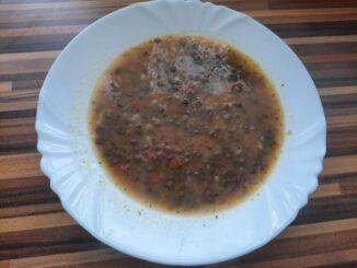 Svačinová čočková polévka