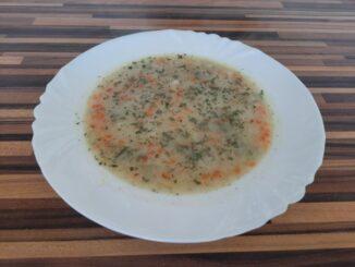 Krémová bramborová polévka